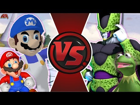 SMG4 Vs DevilArtemis Cell! (YOUTUBE FREE FOR ALL) | Cartoon Fight Club Episode 339