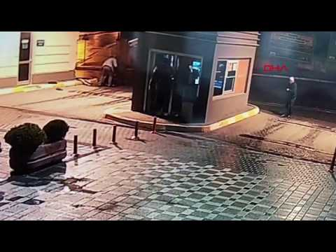 Esenyurt'ta feci kamyon kazası kamerada