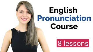 Learn English Pronunciation Coขrse for Beginners | English Vowel Sounds | 8 Lessons