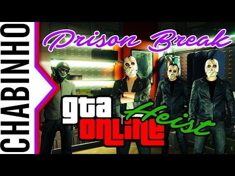【GTA 5 Online】Prison Break Heist (1-2 setup) w/ Wincade, w/DoggyAndi, w/OldDog
