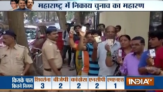 Voting Begins in BMC and Nine other Civic Bodies Elections in Maharashtra