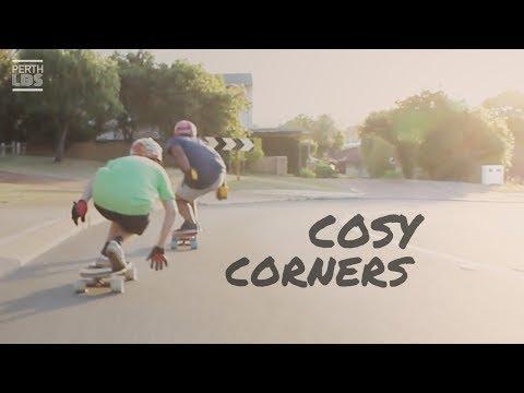 Longboarding Perth: 'Cosy Corners' with Jackson Loney & Joel Kanagalingam