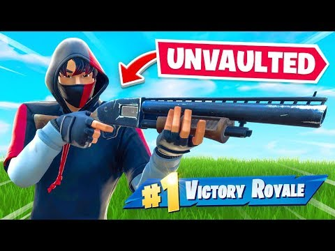 The Pump Shotgun Is FINALLY BACK (Unvaulted)