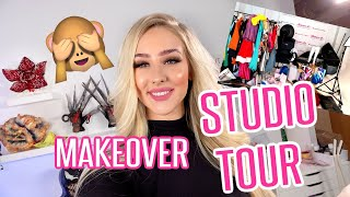 STUDIO TOUR + MAKEOVER