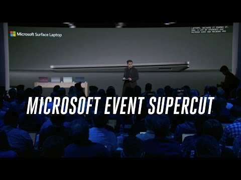 Microsoft's Windows 10 S event in 7 minutes