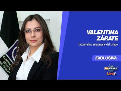La Contraloría acéfala; renuncia, allanamientos e investigaciones, invitada #ValentinaZárate