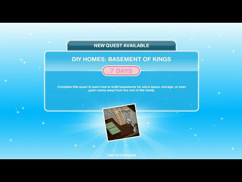 Cara Menyelesaikan DIY Homes: Basement of Kings Quest di The Sims FreePlay [Bahasa Indonesia]