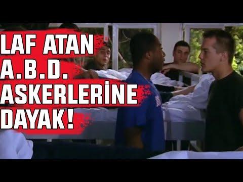 Koğuşta A.B.D. Askerleri ile Türk Askerleri Arasında KAVGA ÇIKTI!