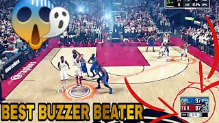 Top 10 Best Buzzer Beaters in NBA 2K History!