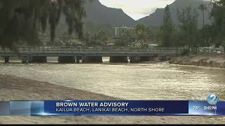 Storm forced millions of gallons of sewer water to spill in Windward Oahu