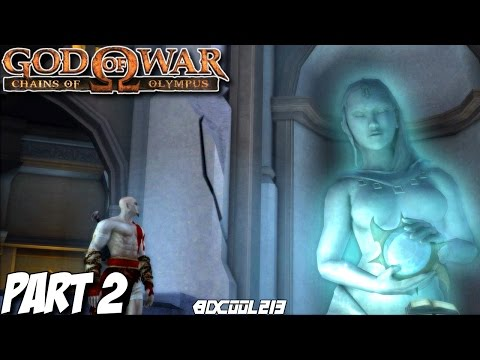 GOD OF WAR CHAINS OF OLYMPUS GAMEPLAY WALKTHROUGH PART 2 THE TEMPLE OF HELIOS - PS3 LETS PLAY