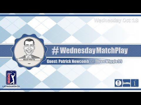 #WednesdayMatchPlay with Patrick Newcomb, PGA TOUR Latinoamérica