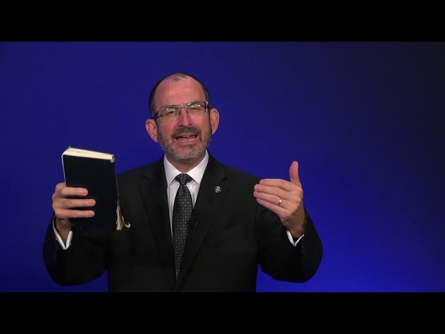 Mateo capítulo 3 - parte 2 - Dr. Baruch Korman