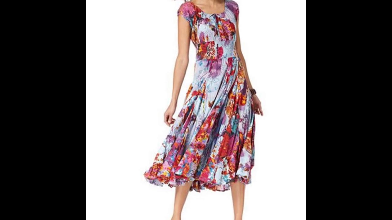 99d599fe4c4 Летние платья для женщин после 40 лет - YouTube