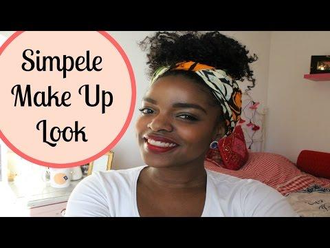 Tutorial   Simpele Make Up Look   donkere huid