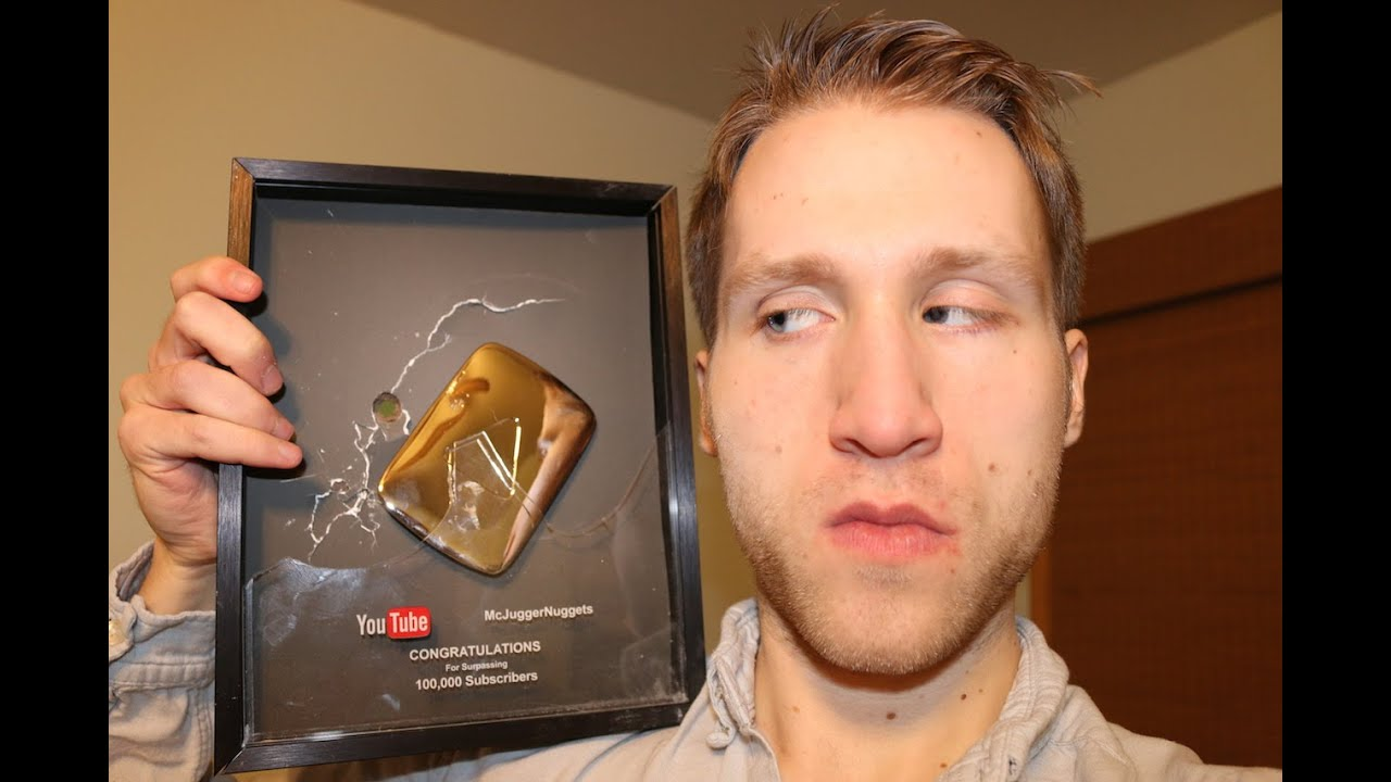 Shattered Youtube Play Button *UPDATE* - YouTube