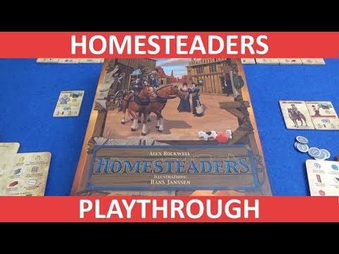 Homesteaders - Playthrough - slickerdrips