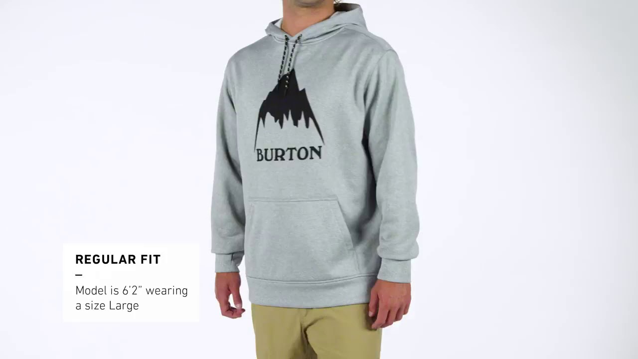 16ab89dce Men's Burton Oak Pullover Hoodie - YouTube