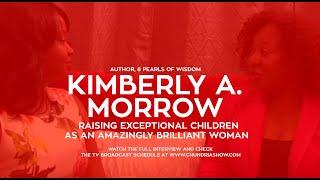 Kim Morrow Talks About Her New Book '8 Pearls Of Wisdom'