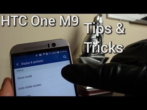 HTC One M9 Tips and Tricks