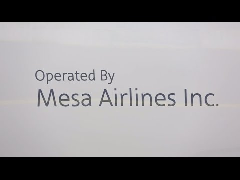 Mesa Airlines CRJ 900 New Aircraft