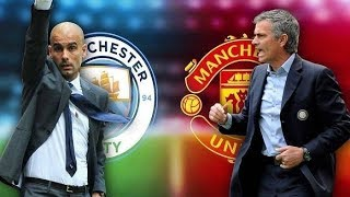 Football Manchester  City  VS  Manchester United Fifa 19