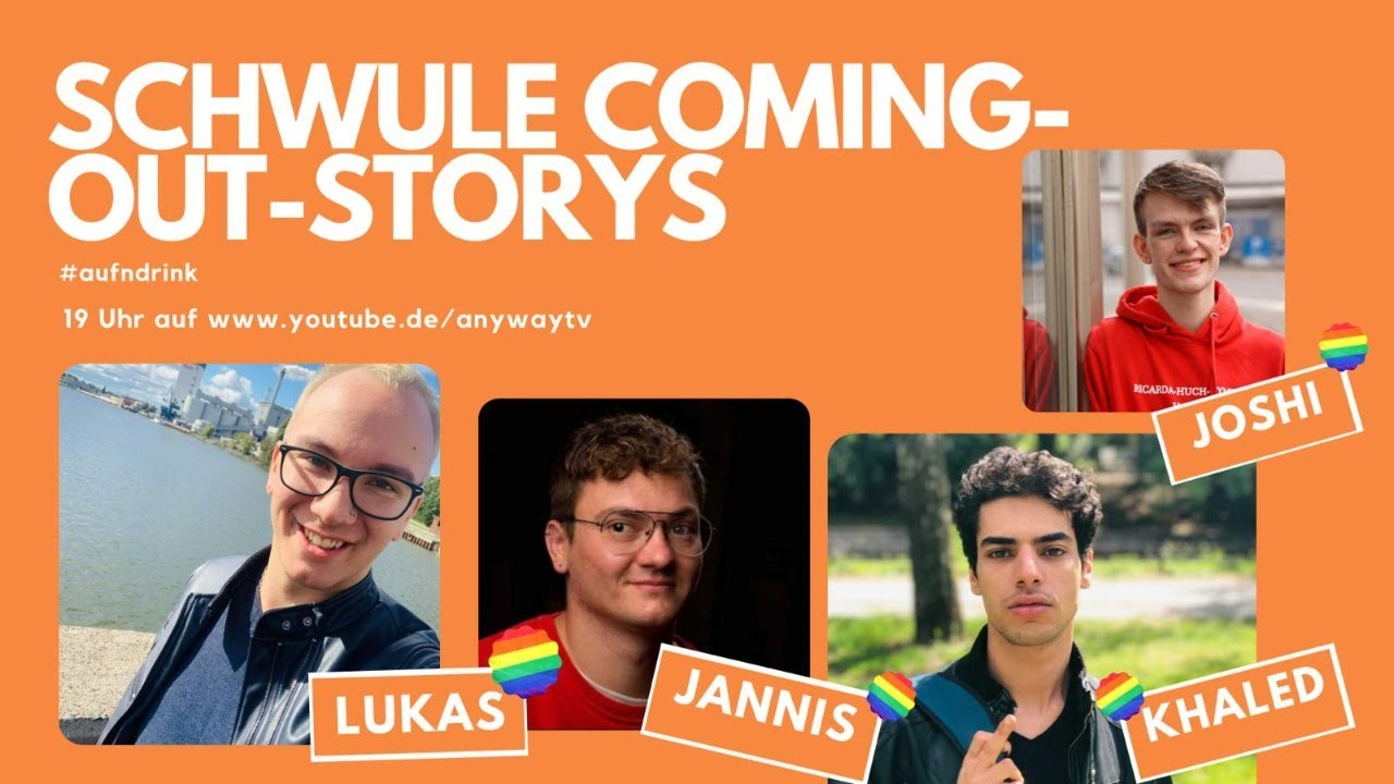 Schwule Coming-out-Storys - YouTube
