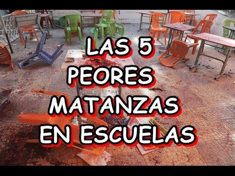 Las 5 peores matanzas en escuelas - Daniel de Hálitus