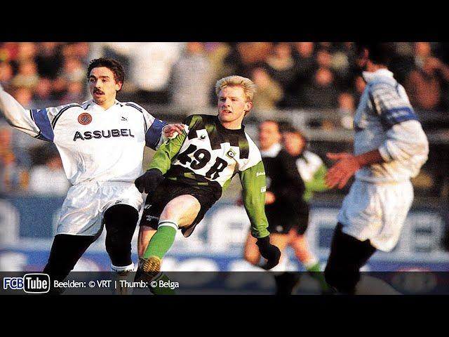 1991-1992 - Jupiler Pro League - 17. Club Brugge - Cercle Brugge 1-1