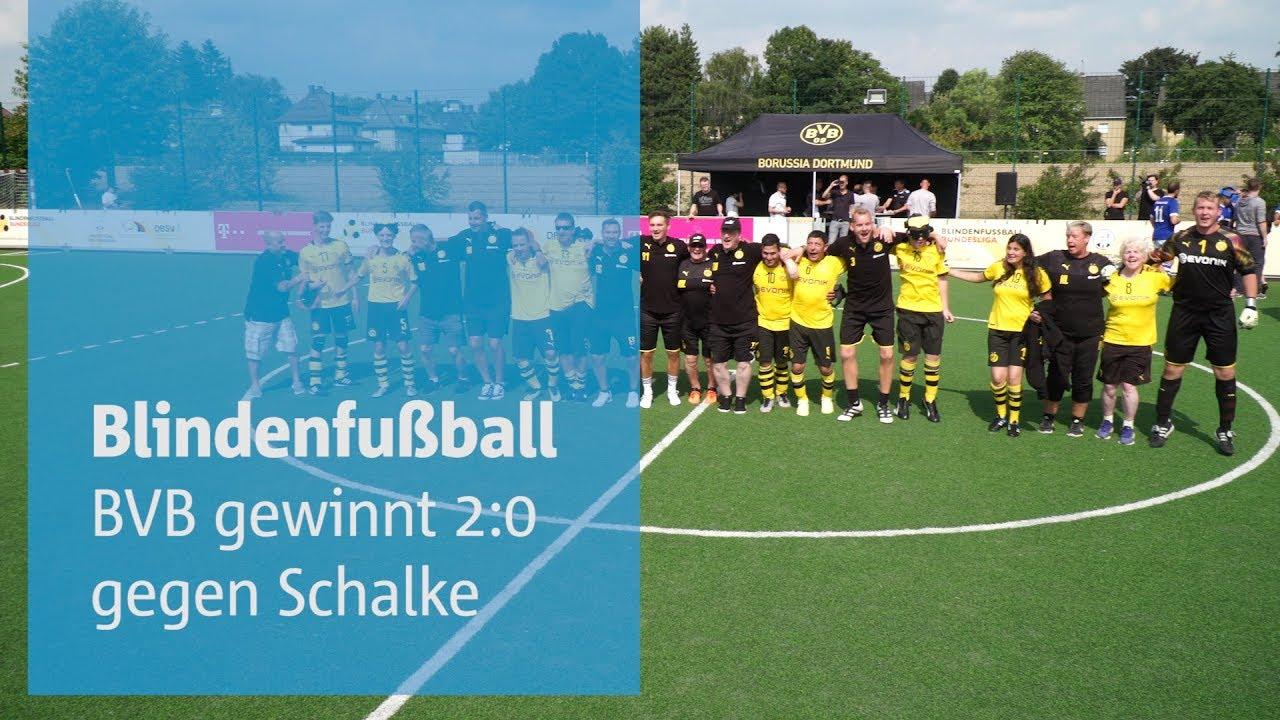 BVB-Blindenfußballer gewinnen das Derby gegen Schalke
