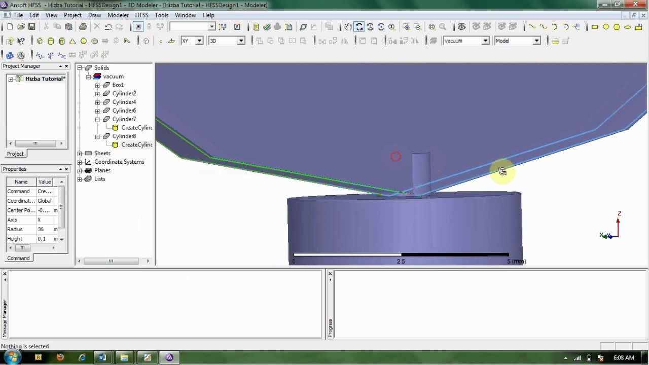 making antenna patch substrat using ansoft hfss 13 youtube rh youtube com