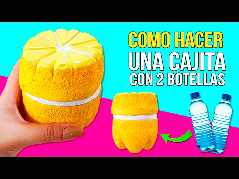 RECYCLED bottles lemon BOX * CAJA limón con BOTELLAS recicladas ✅  Top Tips and Tricks in 1 minute