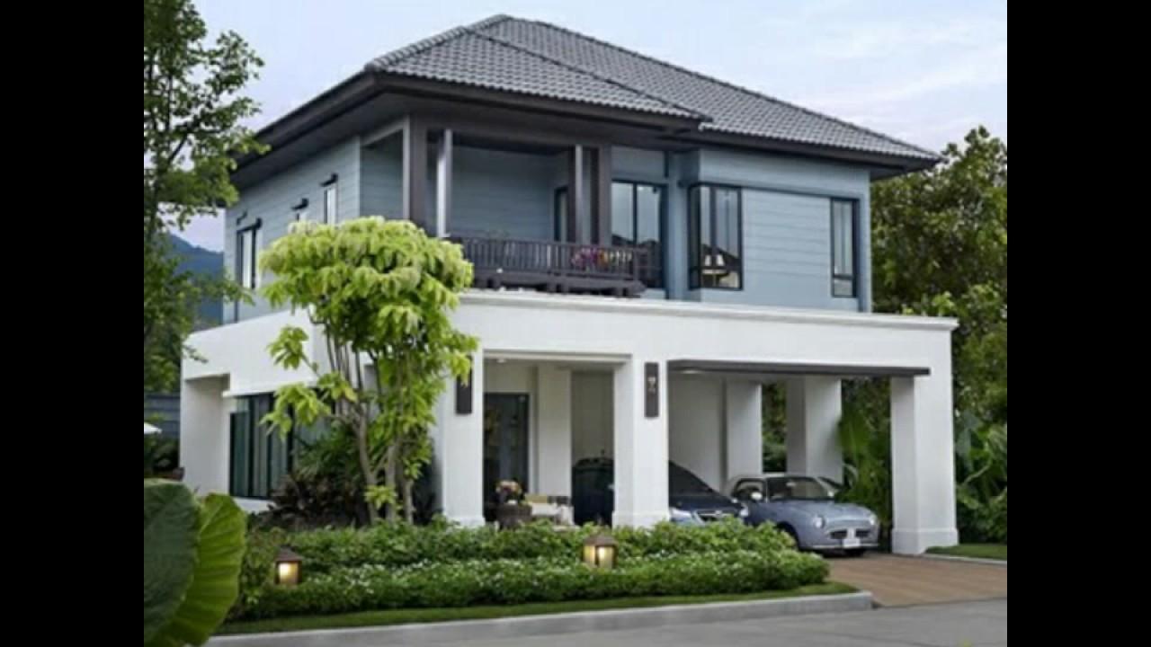 Indian Stylish home design - YouTube