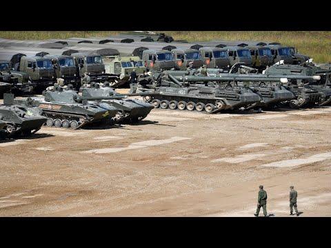 Démonstration de force de l'armée russe aux portes de l'UE