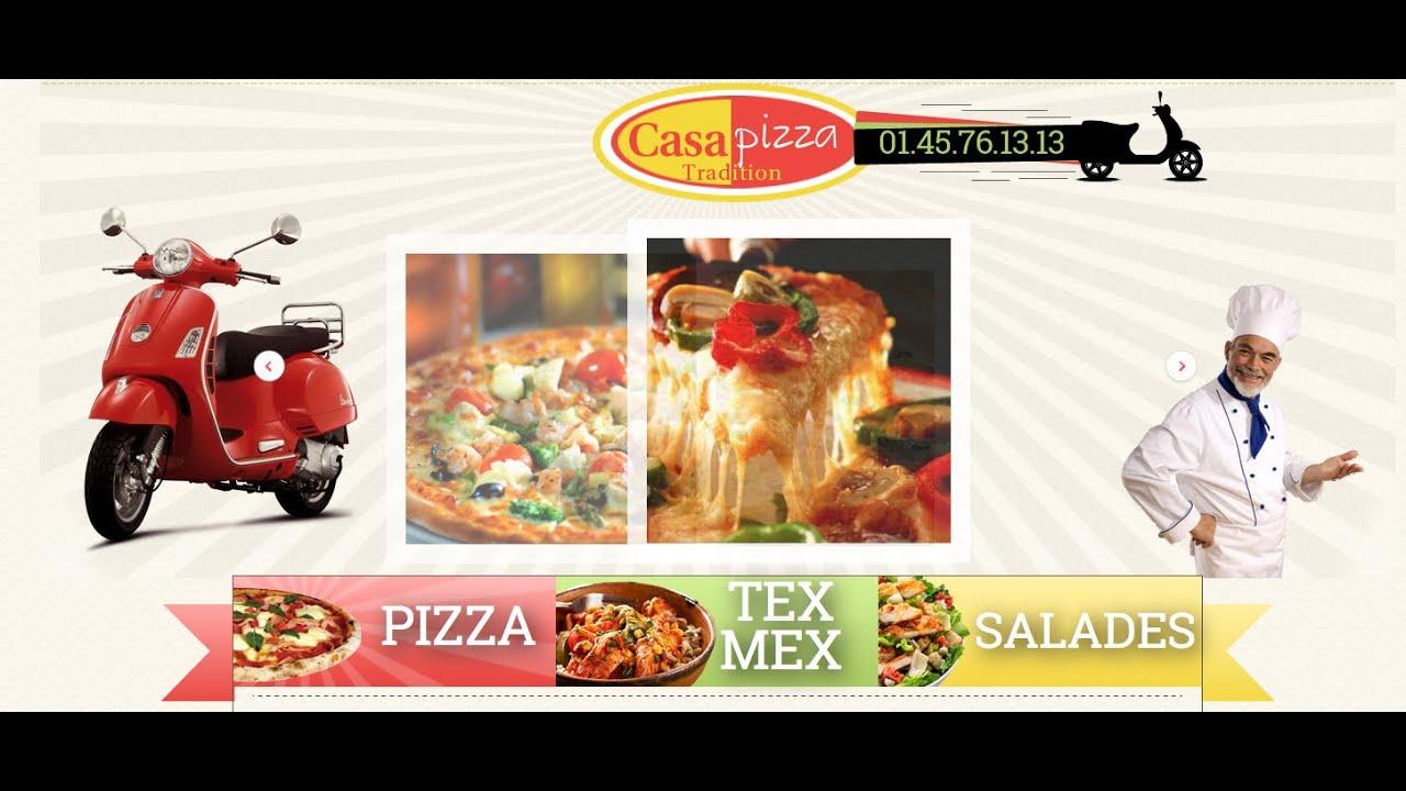 CASA PIZZA - Livraison de Pizzas - Le Plessis Trévise - Pizzeria ...