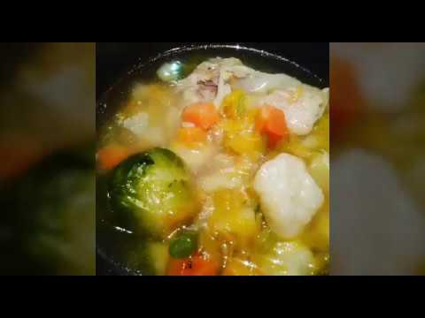 Суп овощной с курицей// Первое блюдо, диета,Суп при панкреатите, гастрите,язве