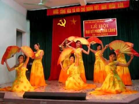 Múa Lung Linh Mai Vàng