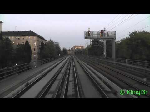 Führerstandsmitfahrt S-Bahn Berlin Westkreuz - Wartenberg S75 BR481