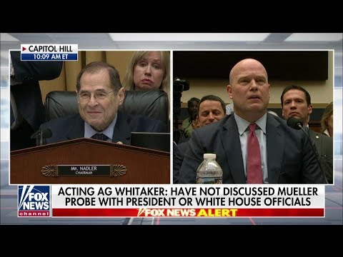 WATCH: Hearing Gets Contentious as Whitaker Tells Top Dem 'Your Five Minutes Is Up'