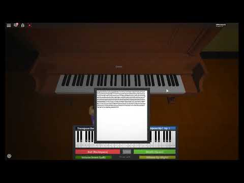 Roblox Piano It S Been So Long The Living Tombstone Youtube