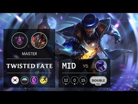 Twisted Fate Mid vs Ryze - KR Master Patch 9.20