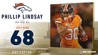 #68: Phillip Lindsay (RB, Broncos) | Top 100 Players of 2019 | NFL