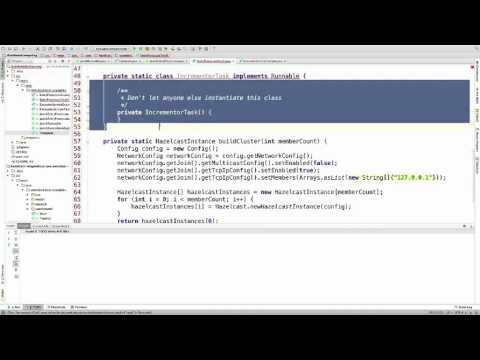 Data Partitioning and Distributed Computing with Hazelcast