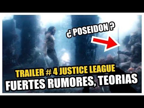 ¿POSEIDON en la pelicula de JUSTICE LEAGUE? Fuertes RUMORES, TEORIAS, Trailer Final!