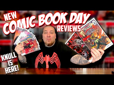 New COMIC BOOK Day Reviews 12/02/2020 | KING IN BLACK | THOR | KNULL is HERE!
