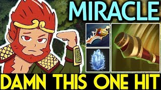 Miracle- Dota 2 [Monkey King] OMG! Damn This One-Hit with Rapier + Double Damage