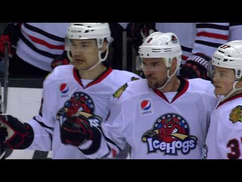 Game Highlights April 21- Game 1 Central Division Semifinals - Chicago Wolves vs Rockford IceHogs