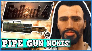 FALLOUT 4 A Perfectly Balanced Game With No Exploits - Can You Beat Fallout Worst Gun Only Challenge