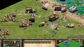 Age Of Empires II battles