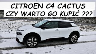 CZY WARTO? Citroen C4 CACTUS Jazda Próbna - TEST PL / 2+3 VLOG